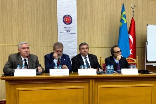 """""""Kırım Tatar Halkı'nın Büyük Evladı""""… İsmail Bey Gaspıralı Kiev'de düzenlenen konferansla anıldı"""
