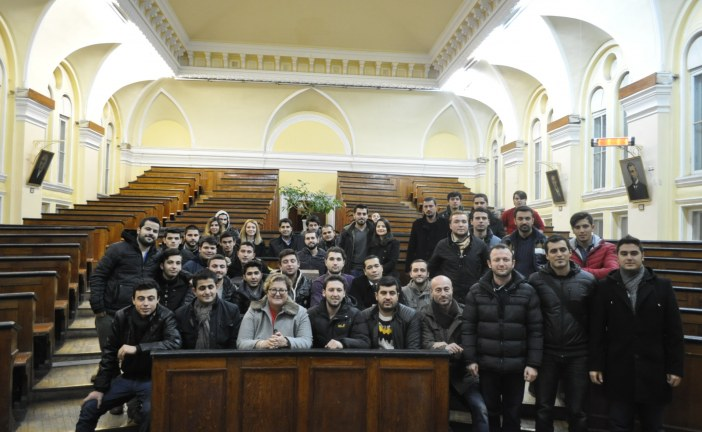 Odesa Başkonsolosluğu Türk öğrencilerle bir araya geldi