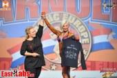 Ukraynalı sporcu Olga Vzyametinova Avrupa vücut geliştirme şampiyonu oldu