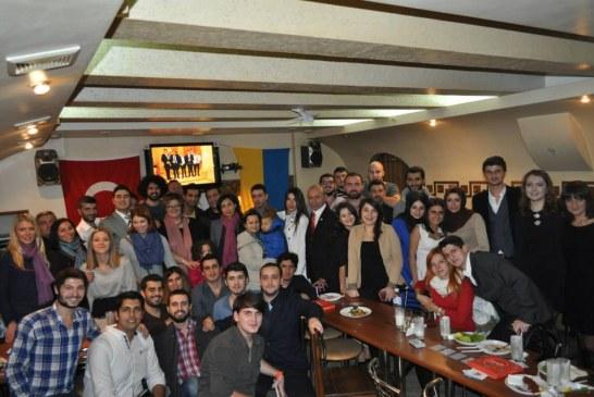 Odesa'daki Türk öğrenciler Birlik Gecesi'nde bir araya geldiler