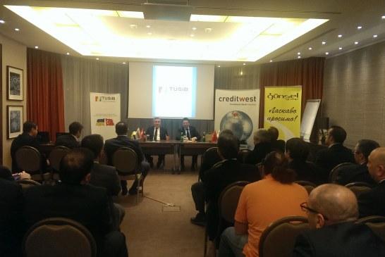 Türk işadamları Ukrayna'daki güncel ekonomik ve mali gelişmeleri değerlendirdi