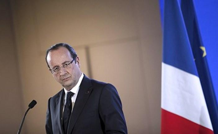 Hollande: 'kalıcı barış sağlanamazsa tek senaryo kalıyor; savaş'