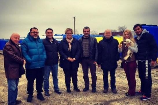 Türk yatırımcısı heryerde, Odesa Başkonsolosu Sağman Türk işadamlarını ziyaret ediyor