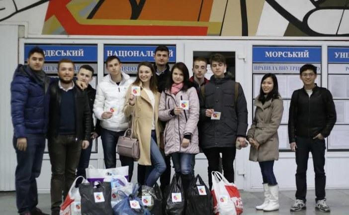Türk öğrenci derneğinden Odesa'da örnek proje