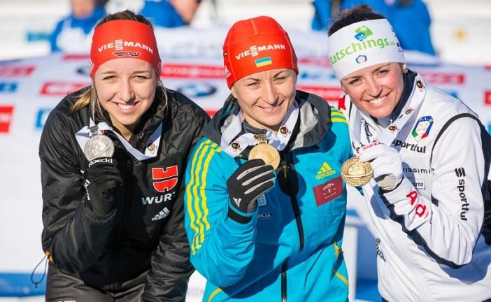 Ukraynalı sporcu Valentina Semerenko'dan ülkesine altın madalya