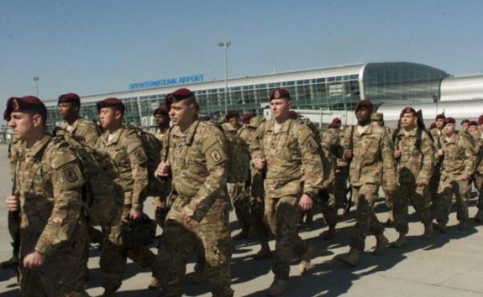 ABD askerleri Ukrayna'ya geldi