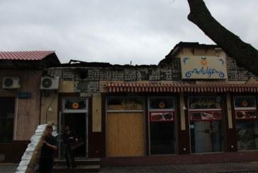 Herson'da Türk restoranı yandı, yangının çıkış nedeni belli değil