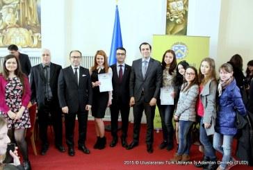 Doğu Dilleri Olimpiyatları ödül töreni Kiev'de gerçekleşti