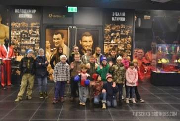 Kliçko müzesi Kiev'de açıldı