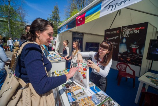 Odesa'da turizm tanıtım sezonu açıldı, Türkiye standına yoğun ilgi (galeri)