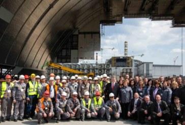 Ukrayna Devlet Başkanı, Çernobil'de çalışan Türklere teşekkür etti