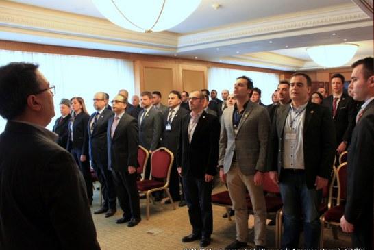 Türk Ukrayna İşadamları Derneği'nde başkanlık seçimi yapıldı