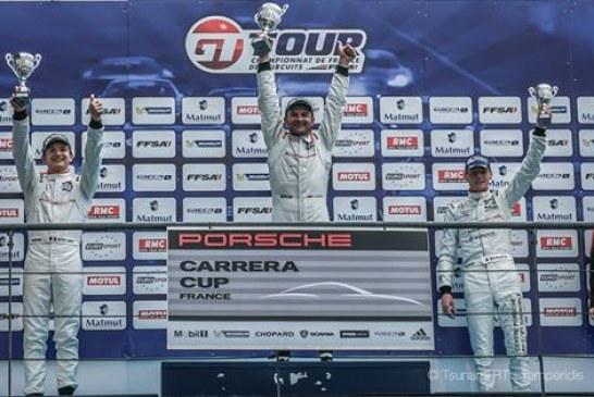 Porsche kupasını kazanan Ukraynalı Oleksandr Gayday yarış tarihine geçti