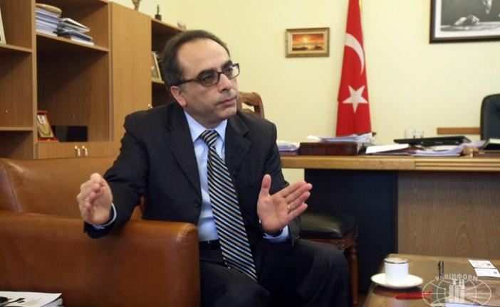 Kiev Büyükelçisi Yönet Can Tezel UkrTürk'e konuştu; Türk iş dünyasına öneriler