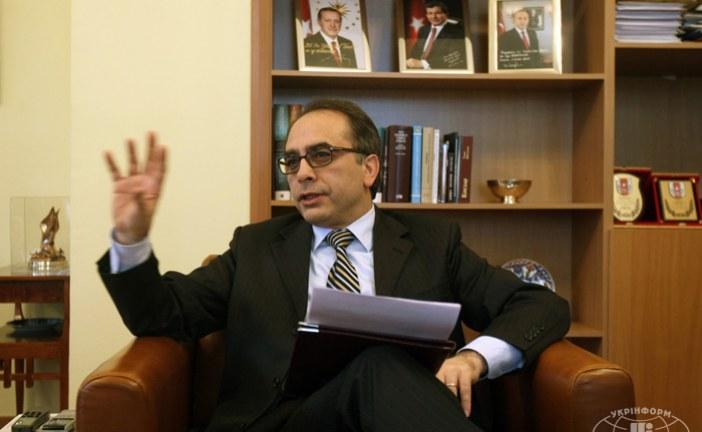 Kiev Büyükelçisi Yönet Can Tezel; 'halkının tercihleri doğrultusunda ilerleyen bir Ukrayna istiyoruz'