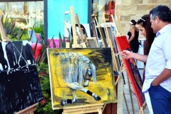 Ukraynalı ve Azeri ressamlardan Bodrum'da resim sergisi