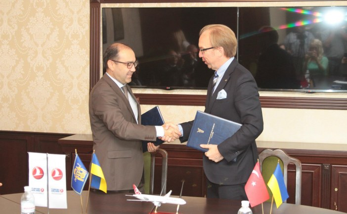 Türk Hava Yolları, Ukrayna Ticaret ve Sanayi Odası ile ticari anlaşma imzaladı