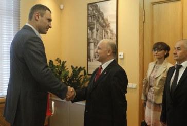 Кличко зустрівся з представниками Турецького агентства зі співробітництва та координації
