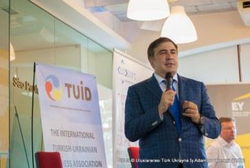 TUİD ve Amerikan Ticaret Odası'ndan Mihail Saakaşvili'nin katılımı ile Yatırım Konferansı