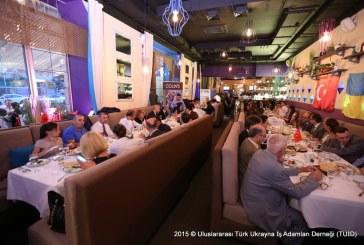 TUİD geleneksel iftar yemeği Kiev'de gerçekleşti