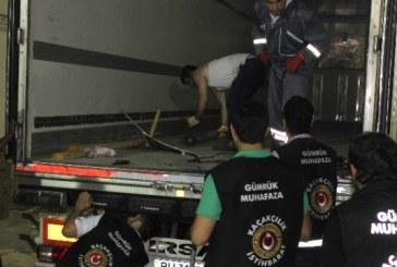 Ukrayna'ya giden 40 milyon dolarlık uyuşturucu Zonguldak limanında yakalandı