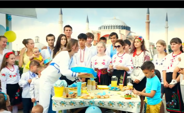 Відео-привітання українців Туреччини з нагоди 24 річниці Незалежності України