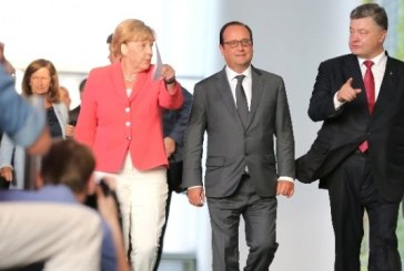 Üç lider Ukrayna için Berlin'de buluştu; 'Minsk Anlaşması barış için araçtır'