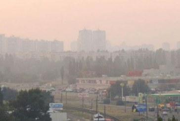 7 hektar torf alanı yandı, Kiev duman altında kaldı