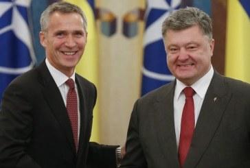 NATO Genel Sekreteri Stoltenberg Ukrayna'da, NATO Kiev'de temsilcilik açacak