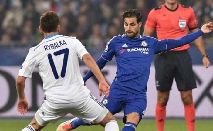 Dynamo Kiev evinde Chelsea'yi ağırladı