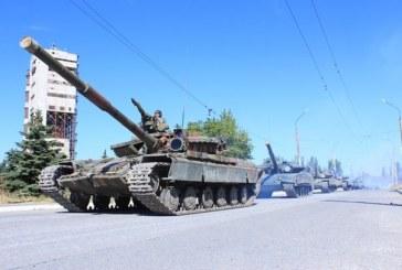 Süreç başladı, Lugansk bölgesinde tanklar karşılıklı olarak geri çekiliyor