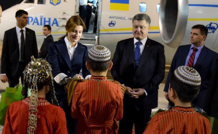 Ukrayna Devlet Başkanı Türkmenistan'da; gündem doğalgaz
