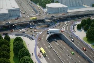 Zafer Bulvarı'nın çehresi değişiyor, işte Şulyavka metro istasyonu kavşağı