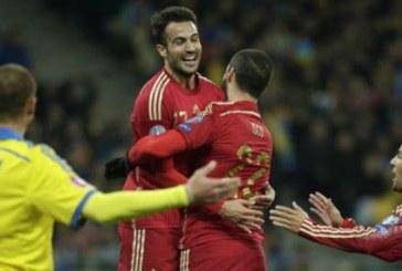 Ukrayna evinde İspanya'ya yenildi, 0 – 1