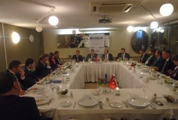 Türk işadamları Ukrayna Enerji Bakanı ile İstanbul'da bir araya geldi