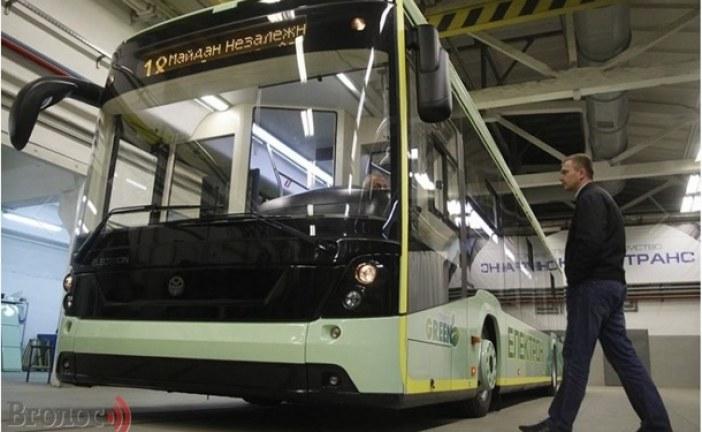 Ukrayna üretimi elektrikli otobüs görücüye çıktı, şarj etmeden 200 km