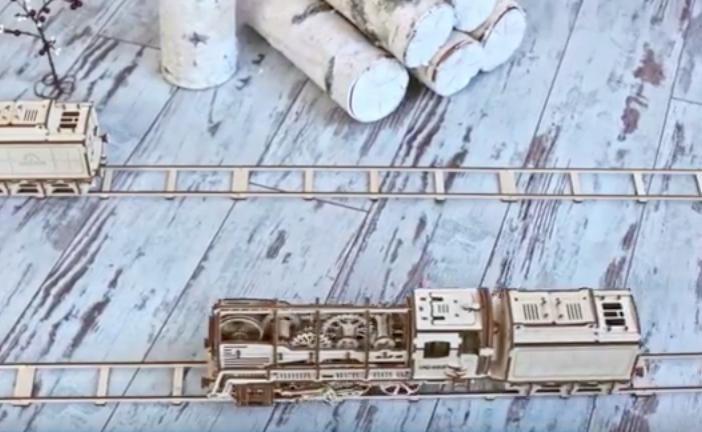 Ukraynalı sanatçıların ahşap puzzle projesine iki günde 40 bin dolarlık destek (video)