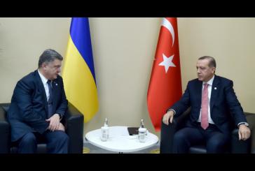 Poroşenko ve Erdoğan New York'ta bir araya geldi
