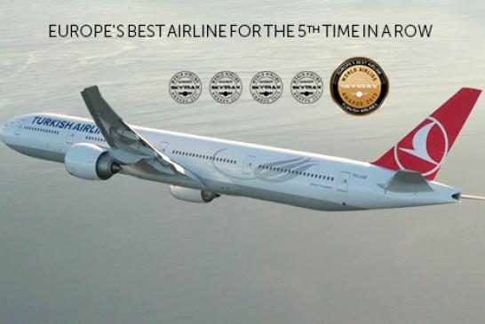 Turkish Airlines в шостий раз може бути визнана «Найкраща авіакомпанією Європи»