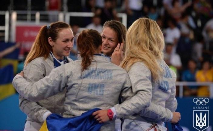 Atina'da Ukrayna rüzgarı, eskrimde Rusya'yı yenen Ukrayna dünya şampiyonu oldu