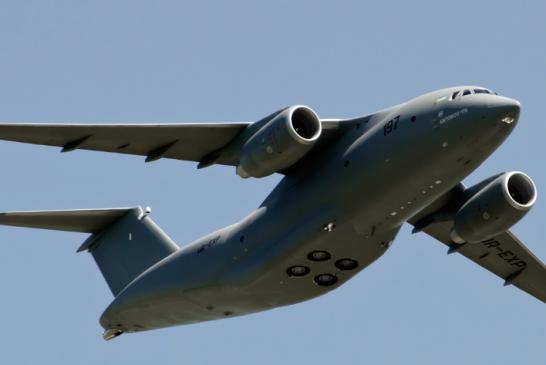 Made in Ukraine… Yerli motorlu Antonov 178 göklerde (video)