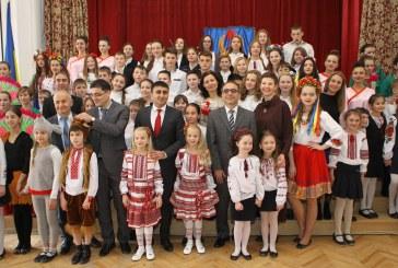 23 Nisan Kiev'deki Doğu Dilleri Lisesi'nde kutlandı