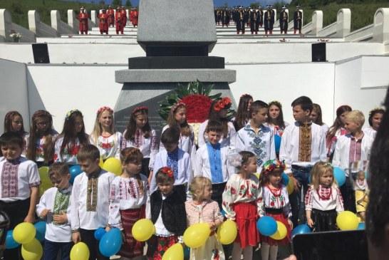 Galiçya Muharebeleri'nin 100'üncü yılında Türk şehitliğinde anma töreni düzenlendi (Video)