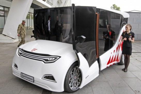 Ukrayna üretimi elektrikli otomobil görücüye çıktı, hedef Monaco