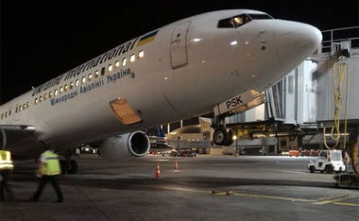 Tel Aviv'de 19 saatlik rötar, bagaj yanlış yerleştirildi Ukrayna uçağı 'şaha kalktı'