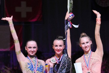 Tüm madalyalar Ukrayna'ya, Anna Rizatdinova Fransa'dan beş altınla döndü