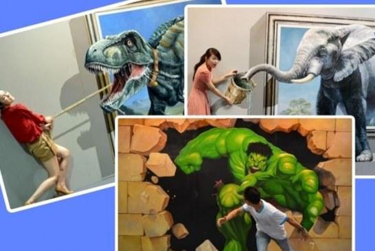 Bu haber Odesalılar için; üç boyutlu resim sergisi açıldı