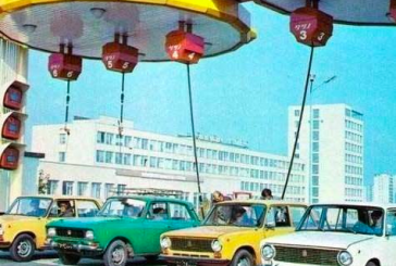 Geçmiş zaman olur ki; sene 1980 Kiev'de bir benzin istasyonu