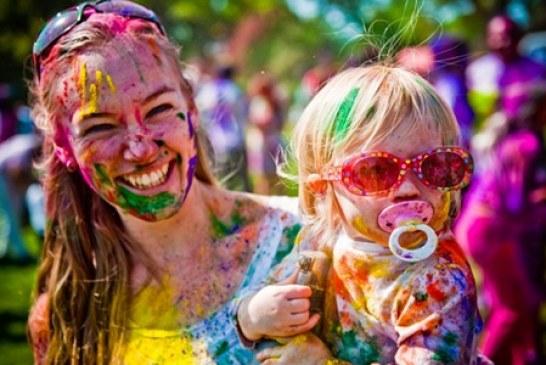 Rengarenk bir hafta sonuna hazır mısınız? binlerce yıllık Hindu geleneği Kiev'de canlanıyor (video)