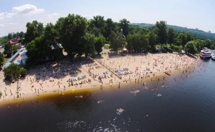 Kievliler nasıl serinliyor? İşte kuş uçuşu Kiev'deki plajlar (galeri)